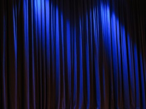 CC - http://pixabay.com/en/curtain-theater-velvet-263731/