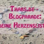 Meine Herzenliste #blogparade