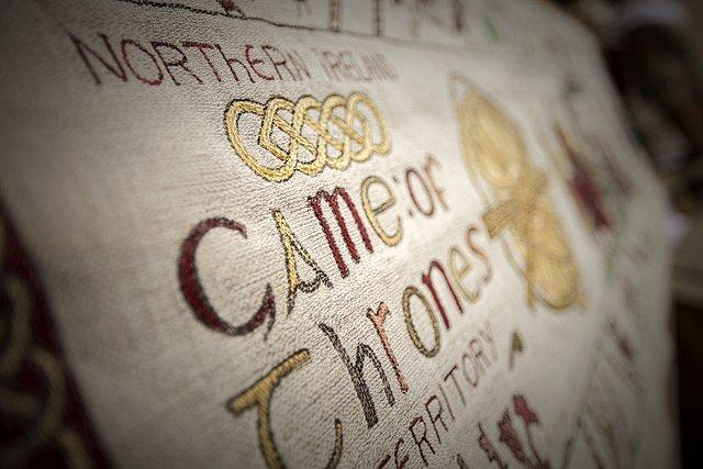 Tapete mit Schriftzug : Game of Thrones