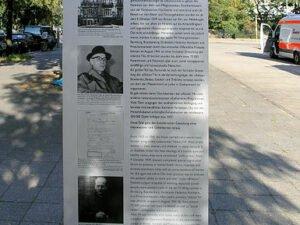 Bild: Gedenktafel an der Tiergartenstraße 4 in Berlin - einer der zentralen Planungsorte der Aktion T4 - cc copyright by Wikipedia